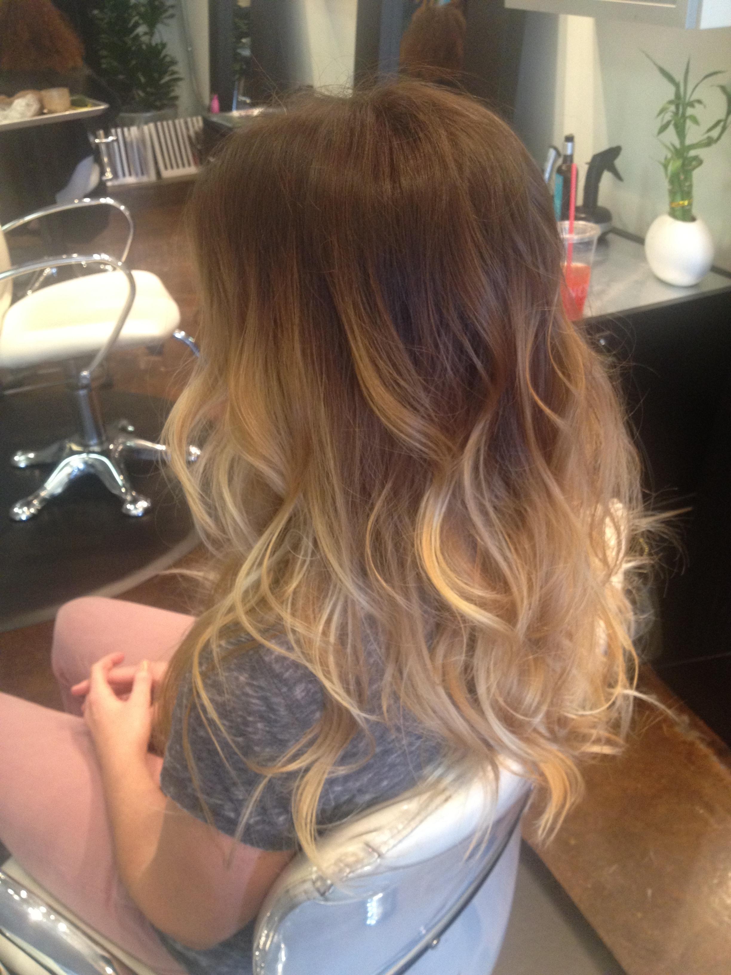 Balayage On Dark Brown Short Hair | newhairstylesformen2014.com