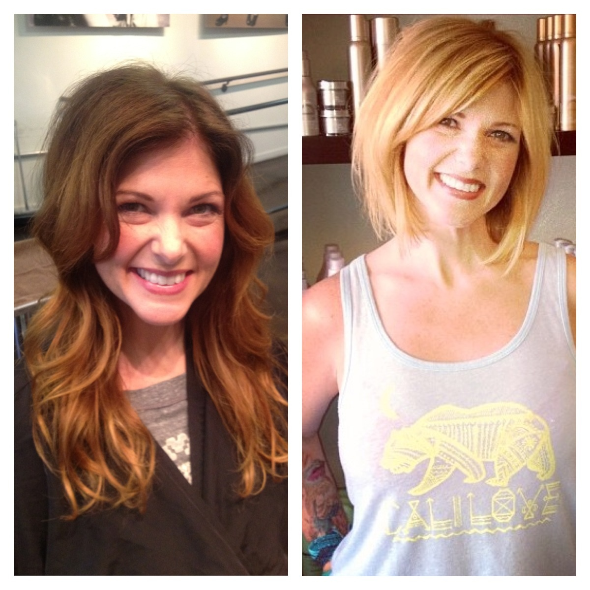 Andrea Miller Hair Before And After San Diego Color