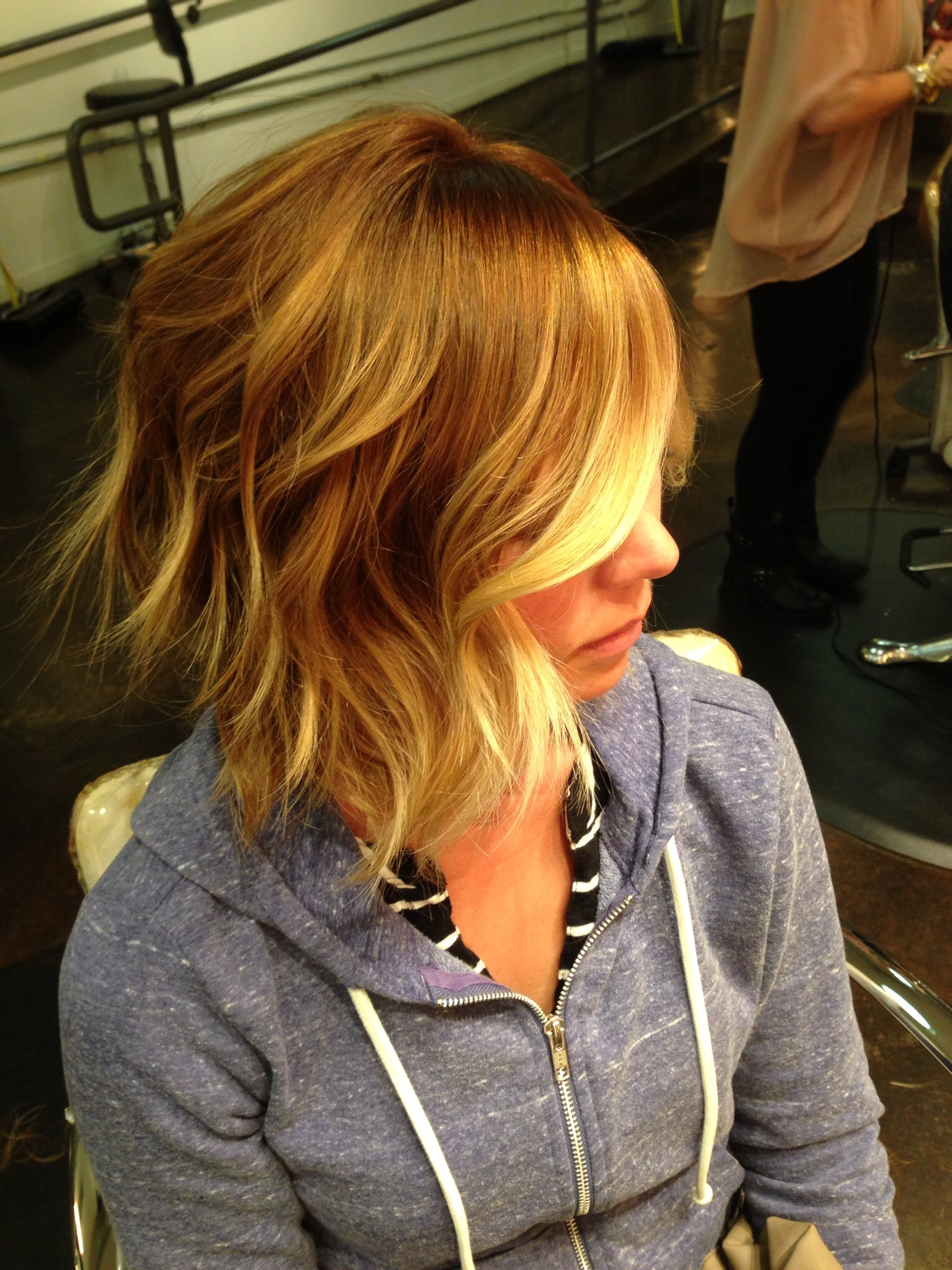 Balayage Ombr San Diego The Lab A Salon Hair Painting Color Melt