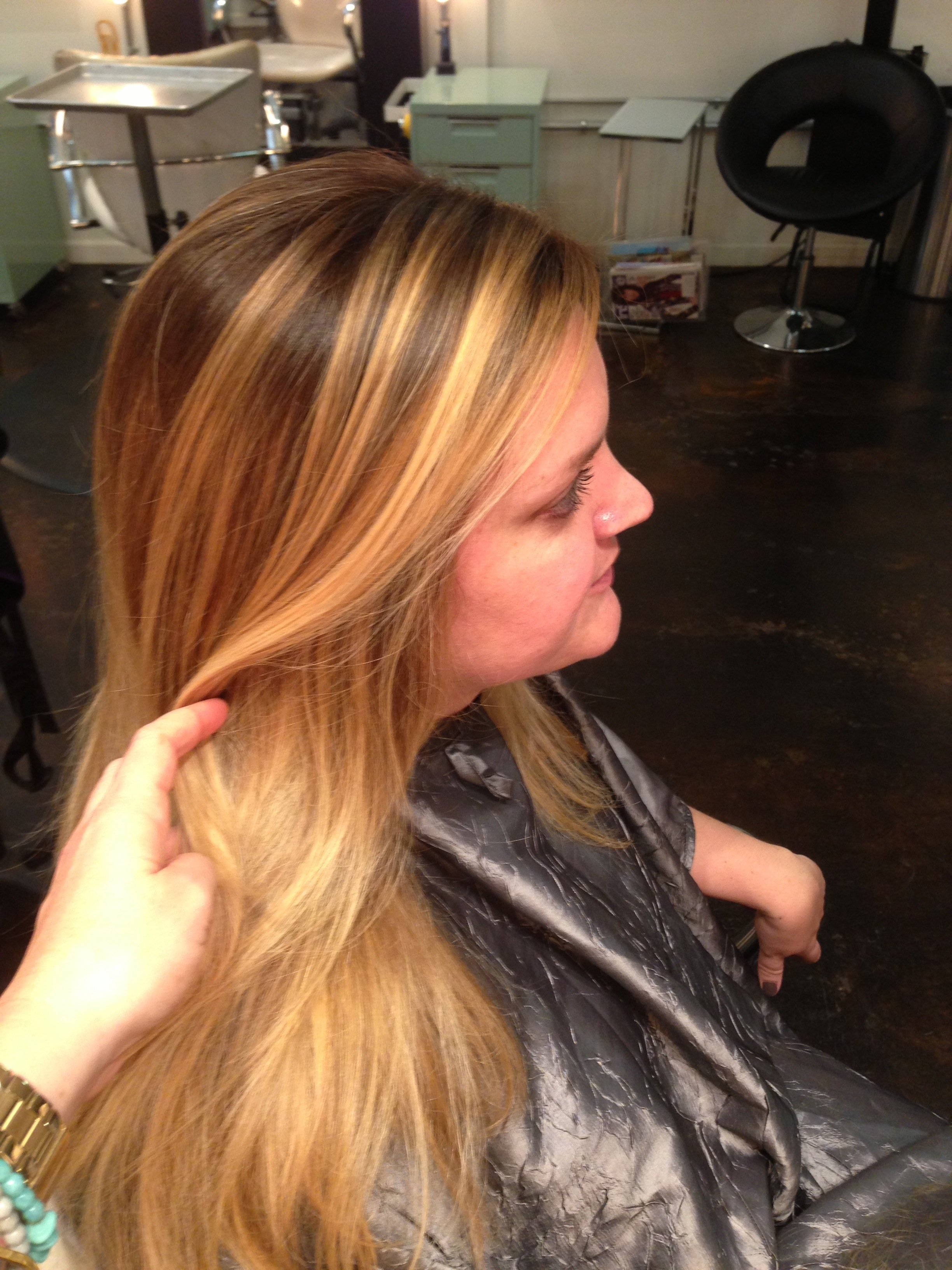 hair. Color specialist. Blonde specialist San Diego. Ombre hair. Color ...