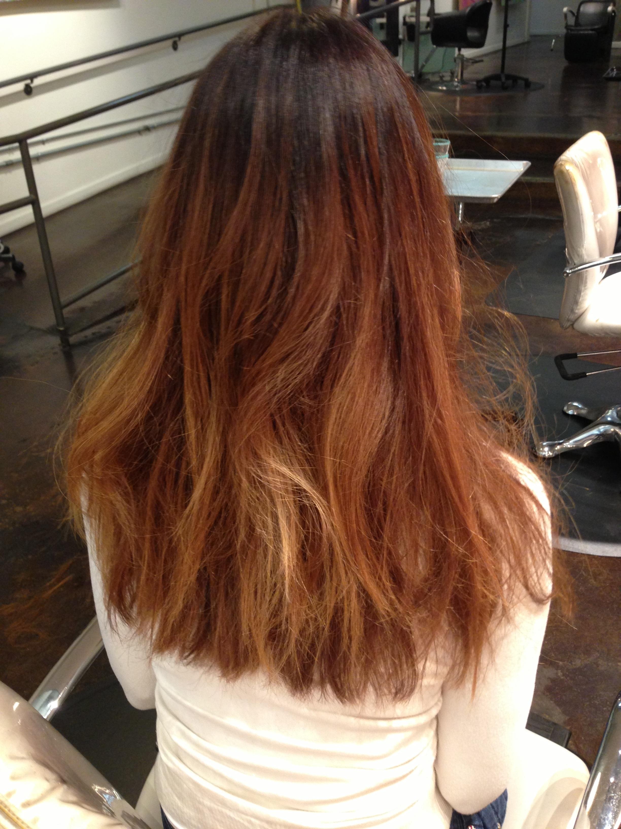 Caramel Highlights On Indian Hair - WeSharePics