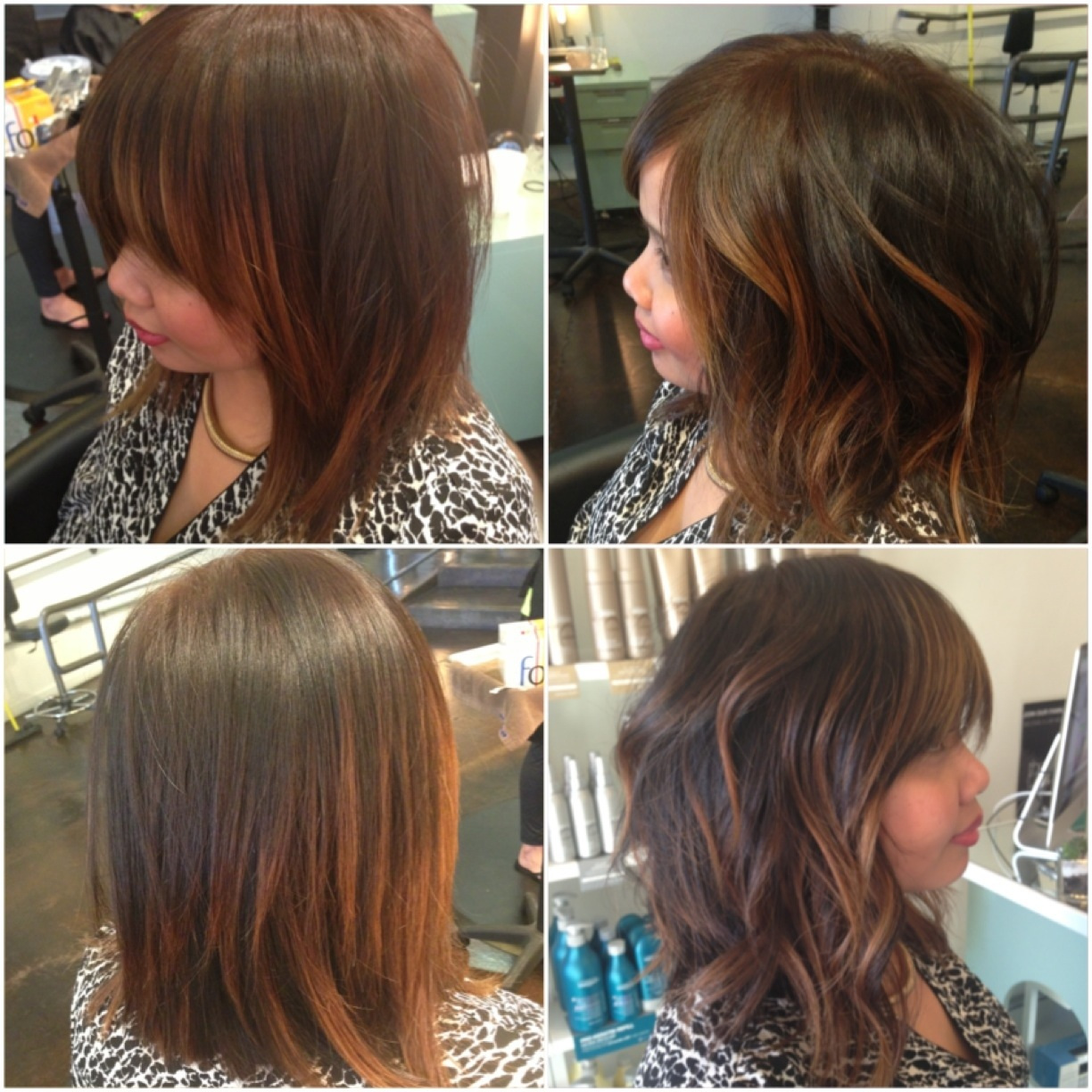Lived In Balayage Long Bob Andrea Lefevre