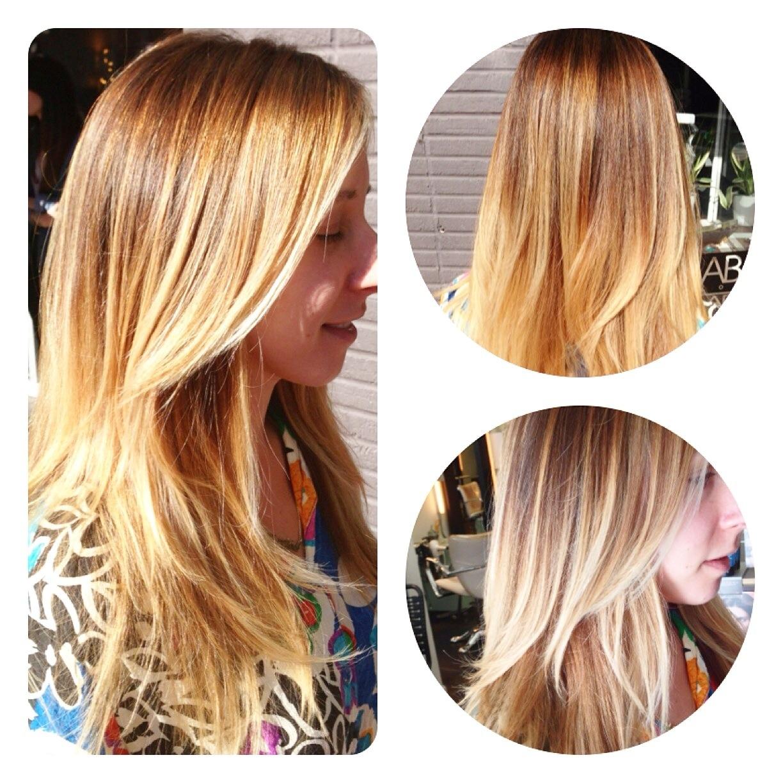 San Diego Balayage Specialist San Diego Hair Blonde Hair Painting