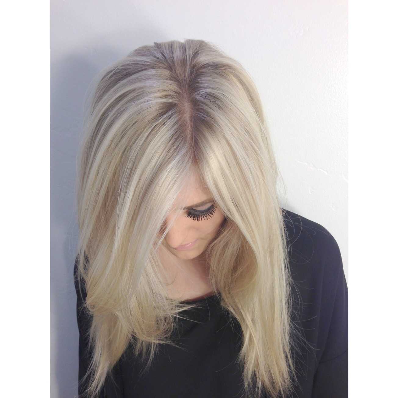 Seamless Blonde Hair Painting Andrea Lefevre