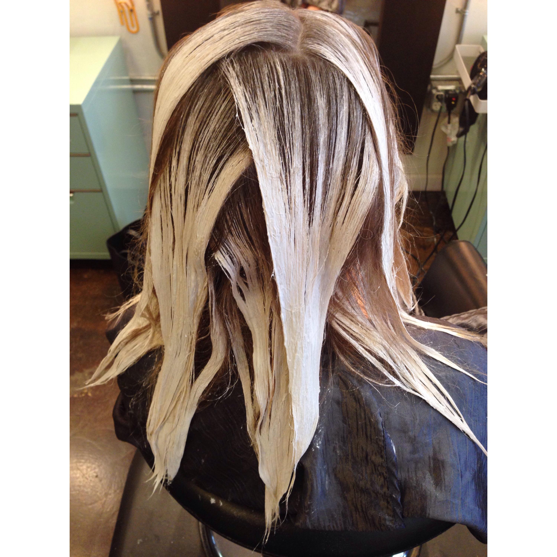 hair balayage how to say