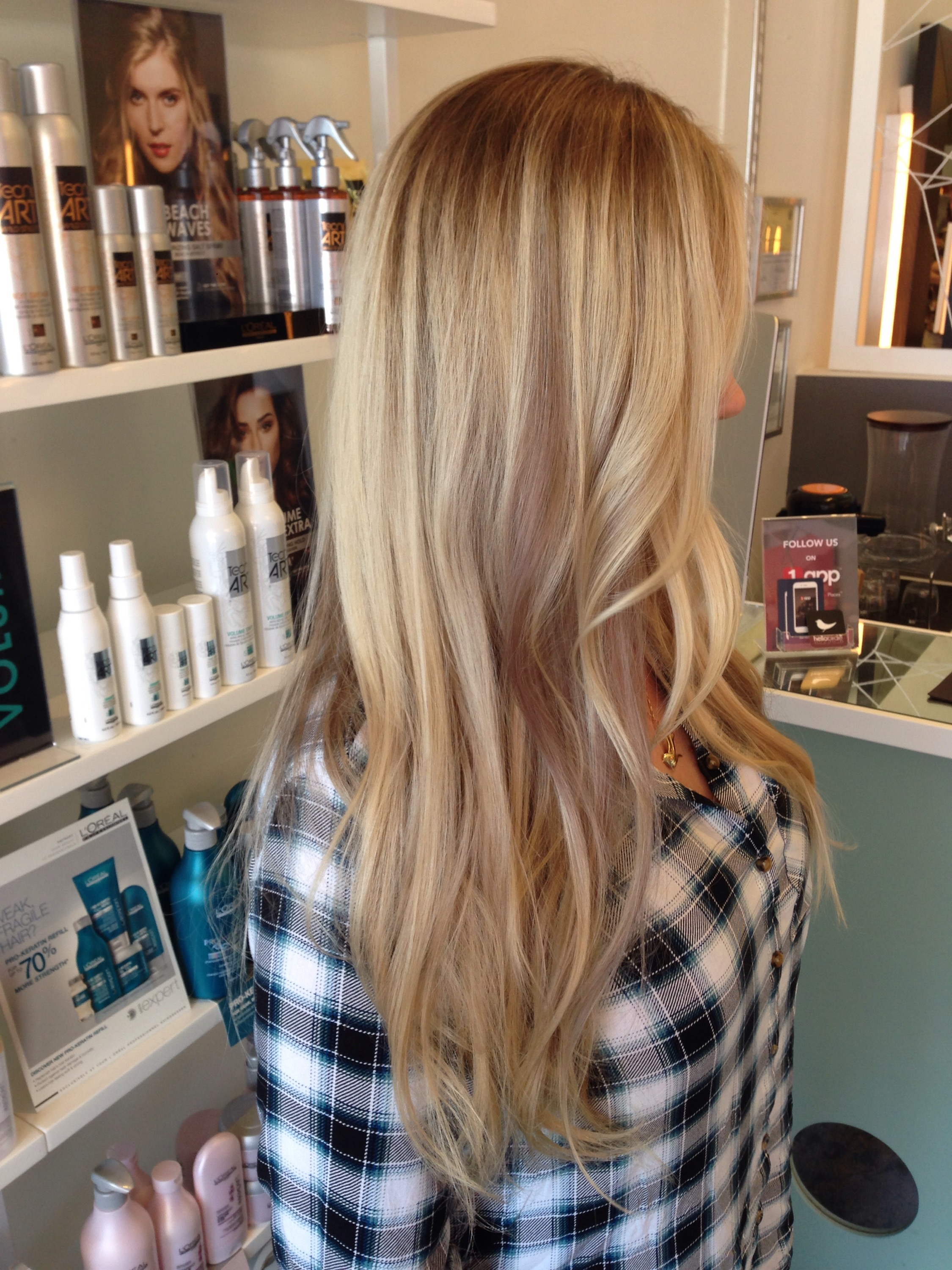 Before And After Color And Extensions Andrea Lefevre