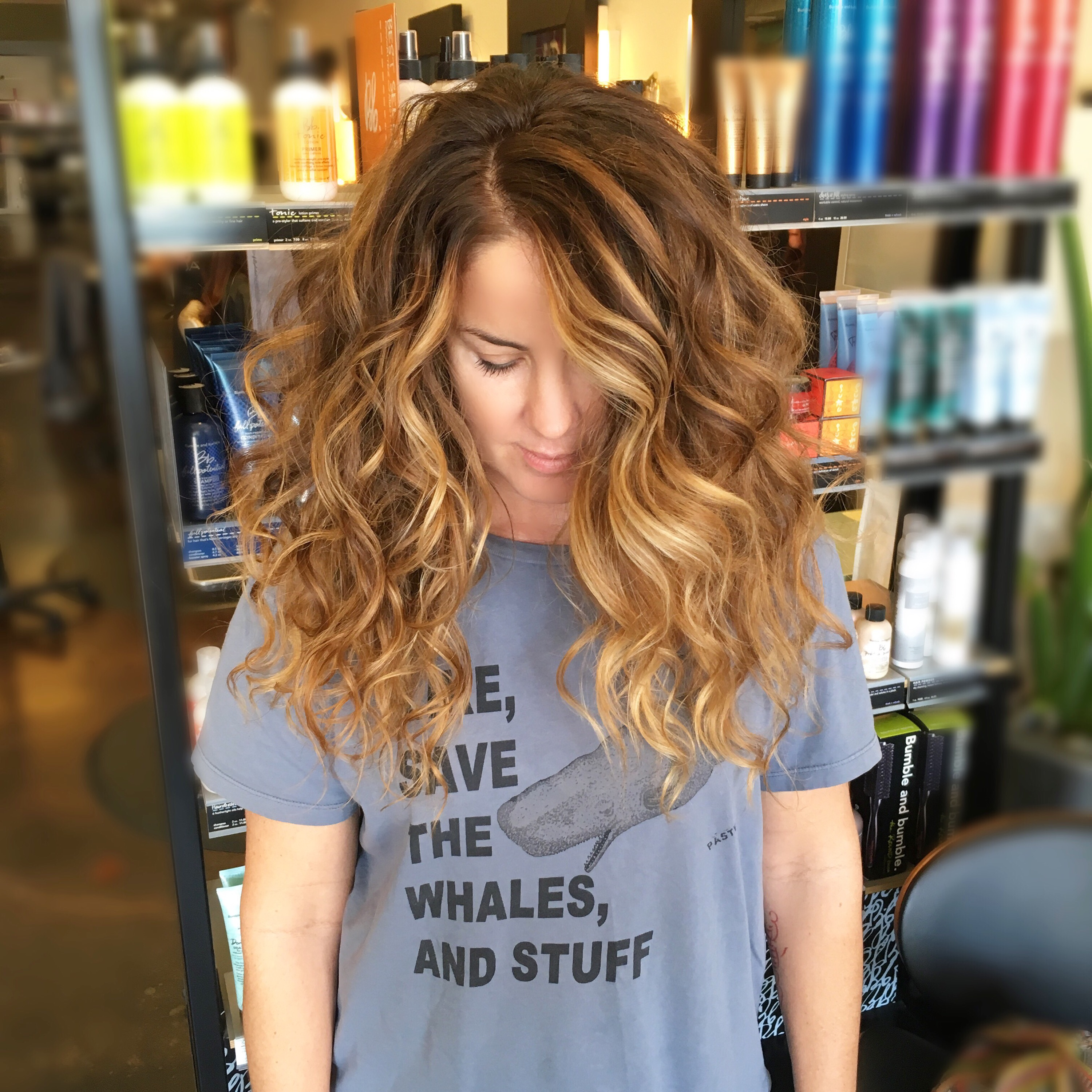 Painted Beach Waves \u2013 Before and After